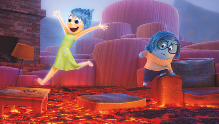 "A still from ""Inside Out,"" which was nominated for Oscars in the categories of best original screen play and best animated film."