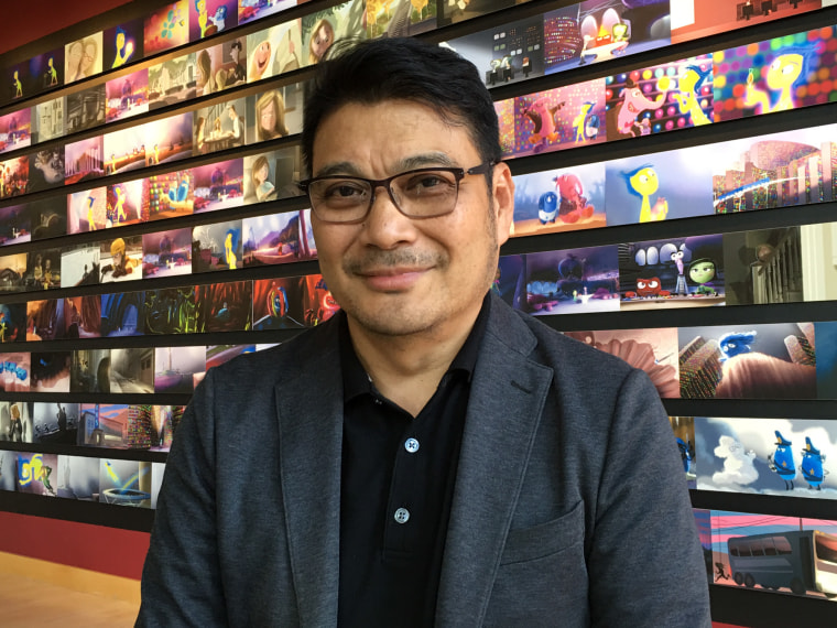 Pixar animator and storyteller Ronnie del Carmen, immigrated to the U.S. following the People Power Revolution and has worked as an animator for 25 years.