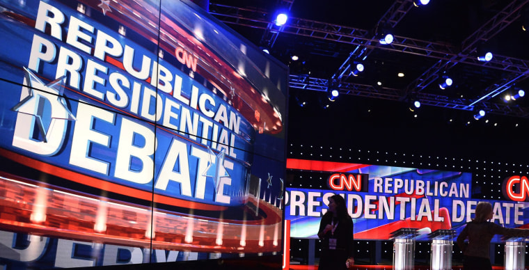 Image: CNN Hosts Republican Presidential Primary Debate in Houston, Texas, USA