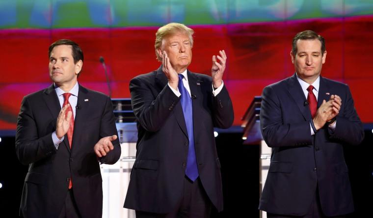 Image: Republican U.S. Presidential candidates