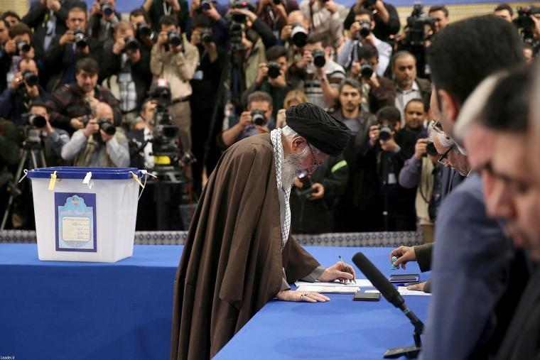 Image: Iran Elections Ayatollah