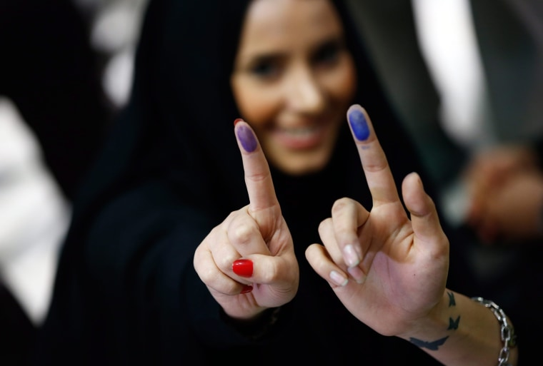 Image: Iran parliamentary and Assembly of Experts election