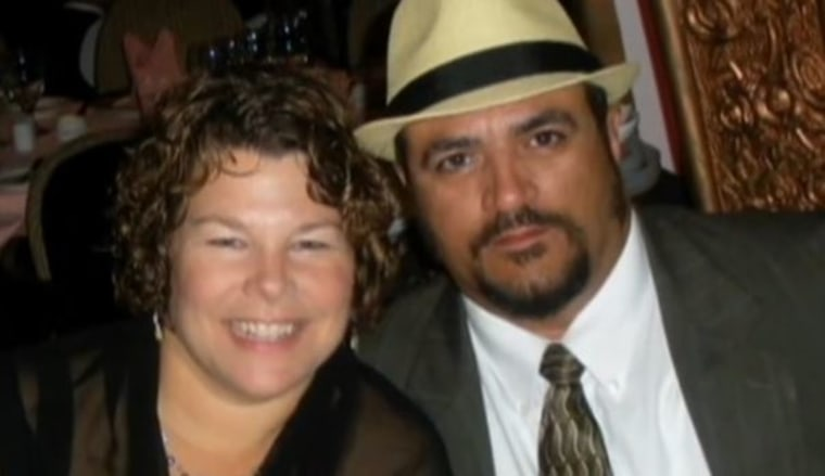 Betsy and her husband Russ Faria. Russ was convicted for Betsy's murder in 2013 then acquitted in November 2015 after a re-trial allowed evidence regarding the life insurance proceeds.