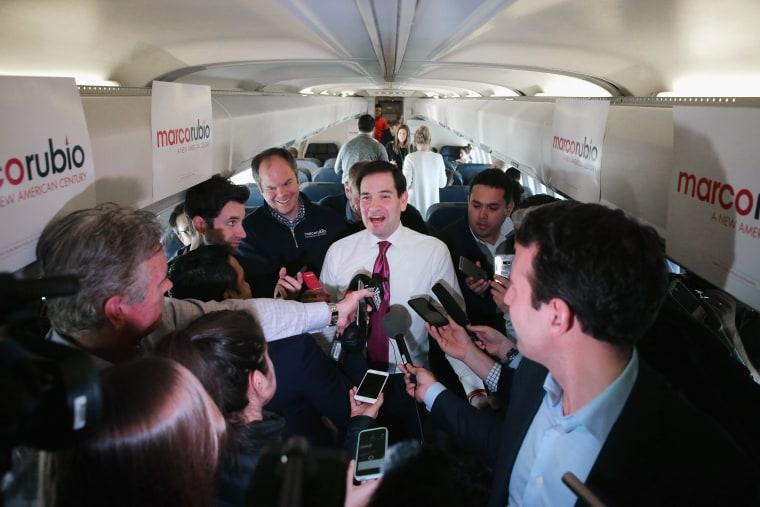 Image: GOP Presidential Candidate Sen. Marco Rubio (R-FL) Campaigns In South Carolina