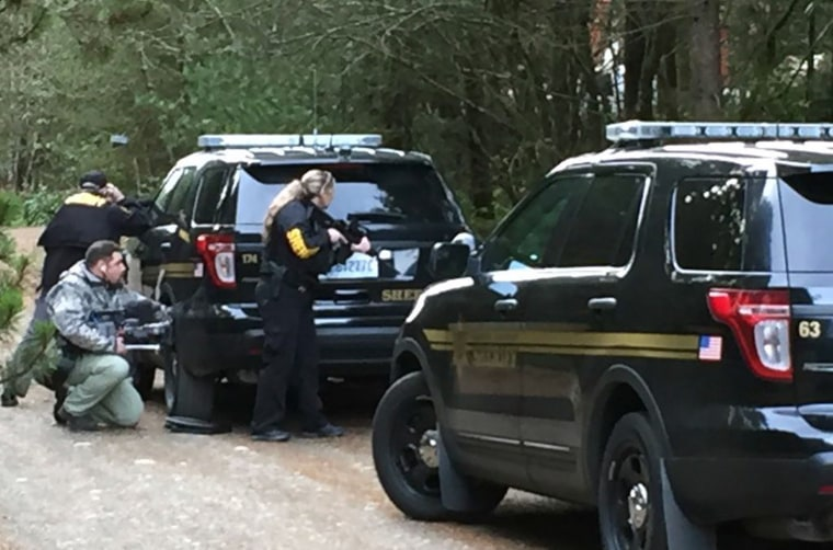 Image: Mason County, Washington standoff