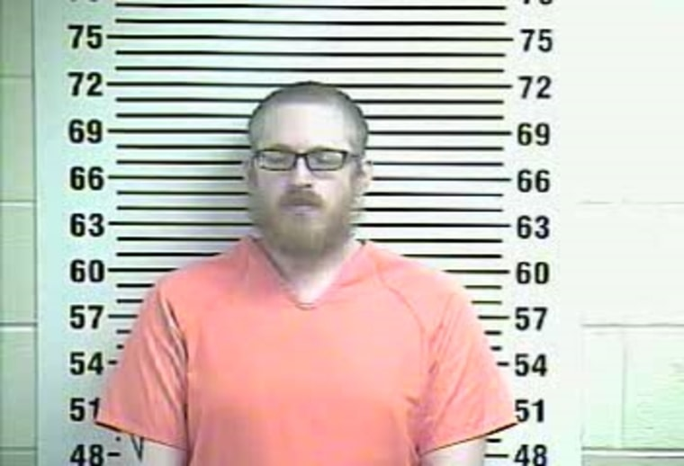 Image: Booking photo of The Reverend from the Allen County Detention Center, Kentucky