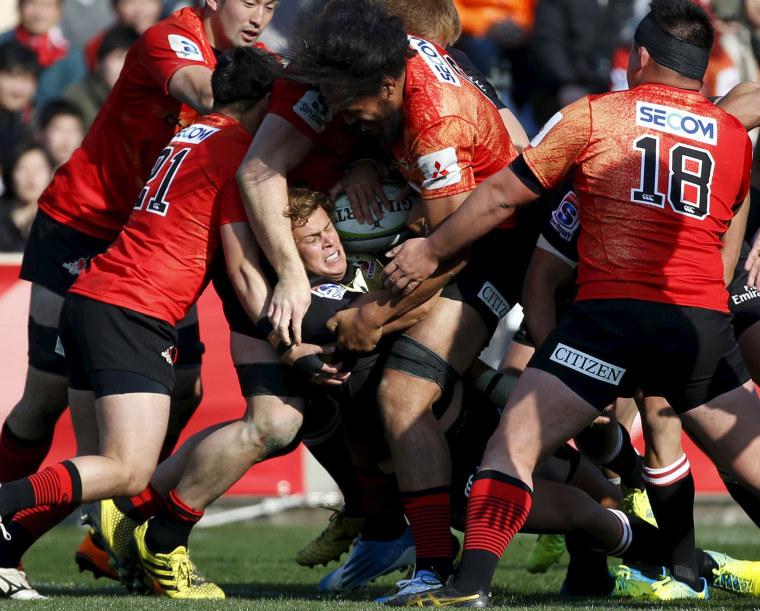 Image: Rugby Union - Sunwolves v Lions - Super Rugby