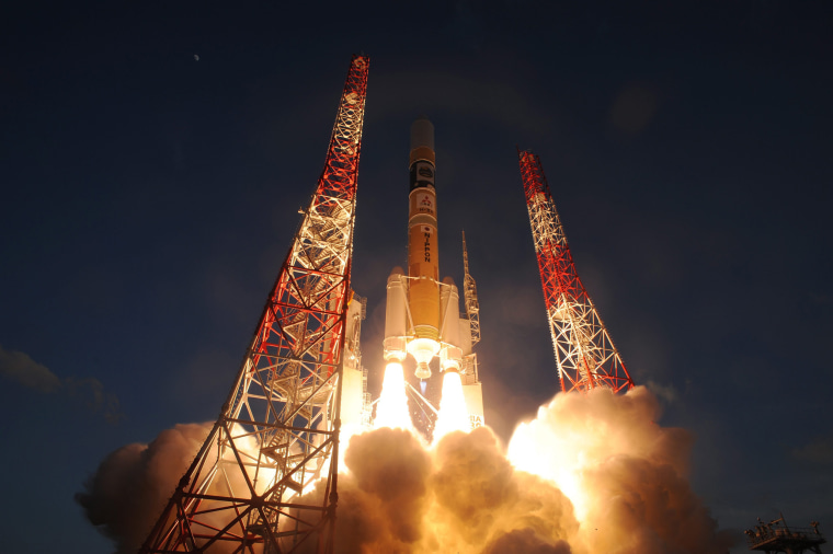 Image: H-2A rocket launch X-ray astronomy satellite 'ASTRO-H'