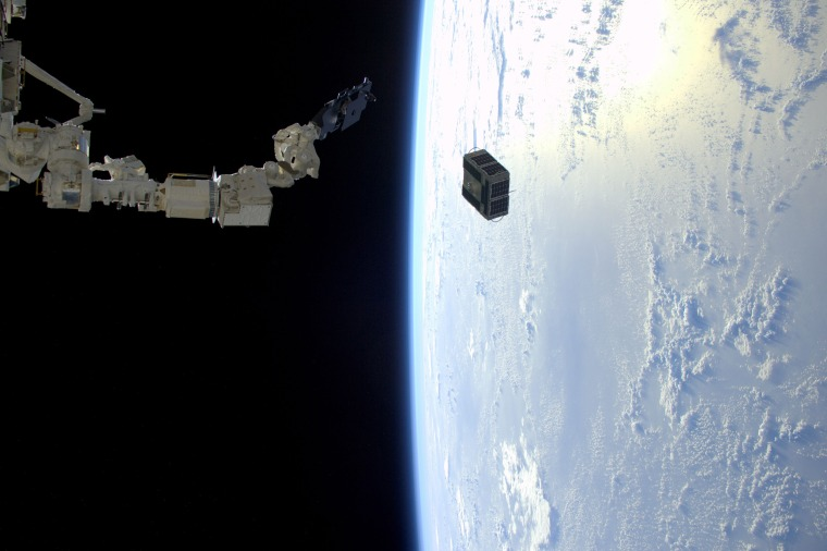 Image: US-SPACE-ISS-SATELLITE