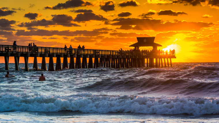 Naples, Florida, is the happiest, healthiest city in the US