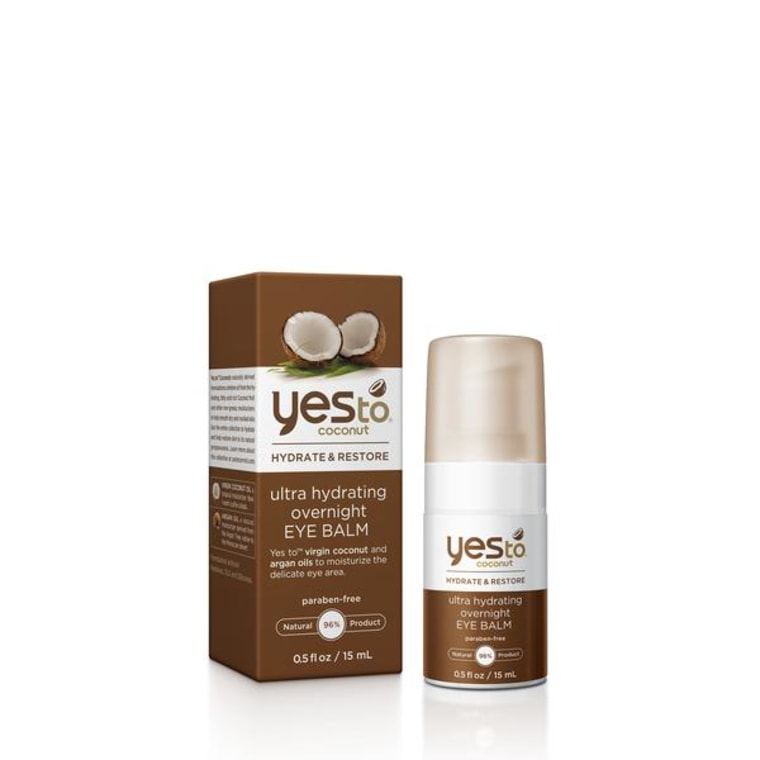 Yes to coconut eye balm