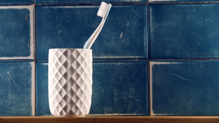 Your toothbrush holder is one of the germiest places in your home. Fortunately, it's easy to clean.
