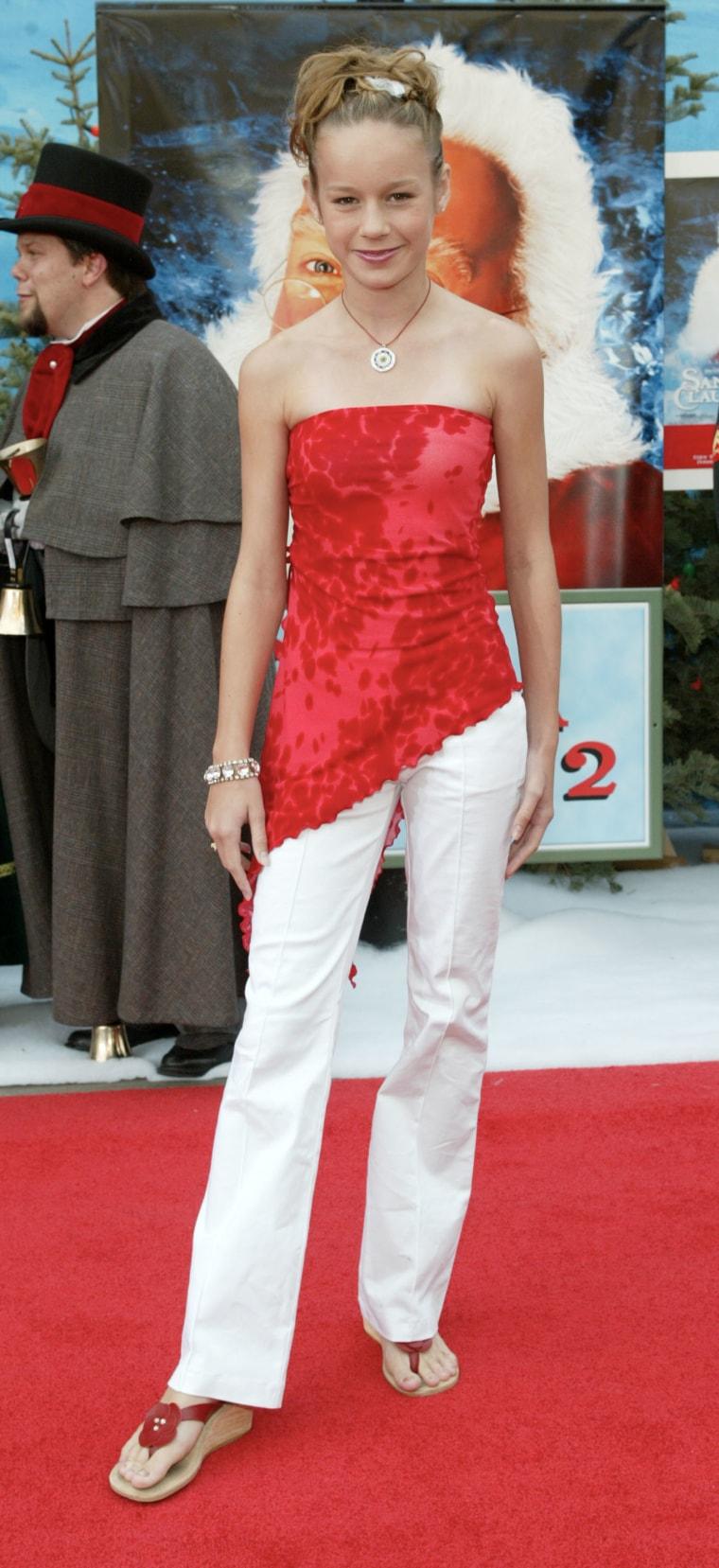 Brie Larson At The Film Premiere of Santa Claus 2