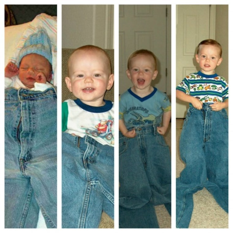 IMAGE: Birthday jeans
