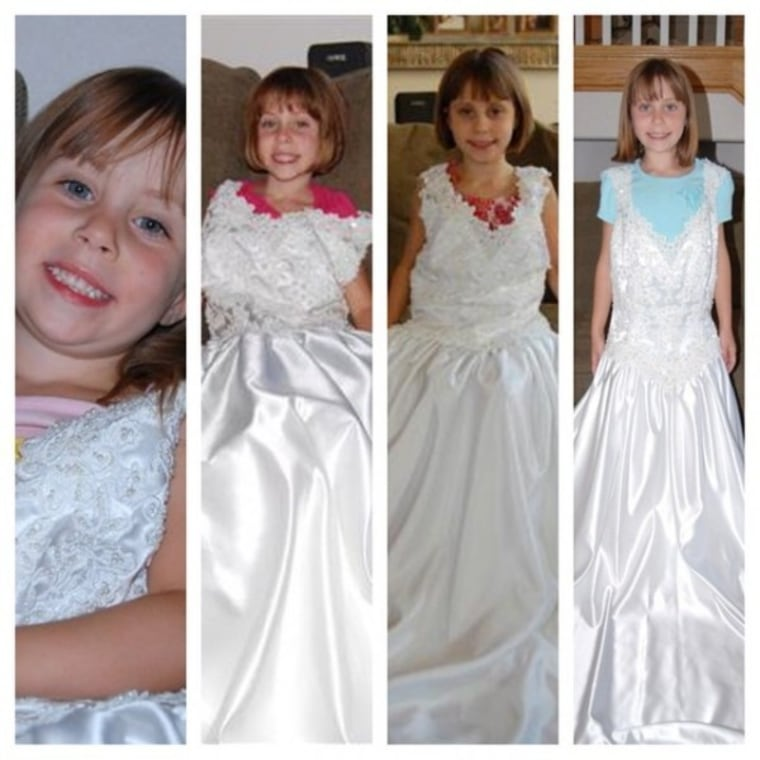 IMAGE: Birthday gown