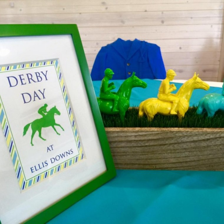 IMAGE: Derby party