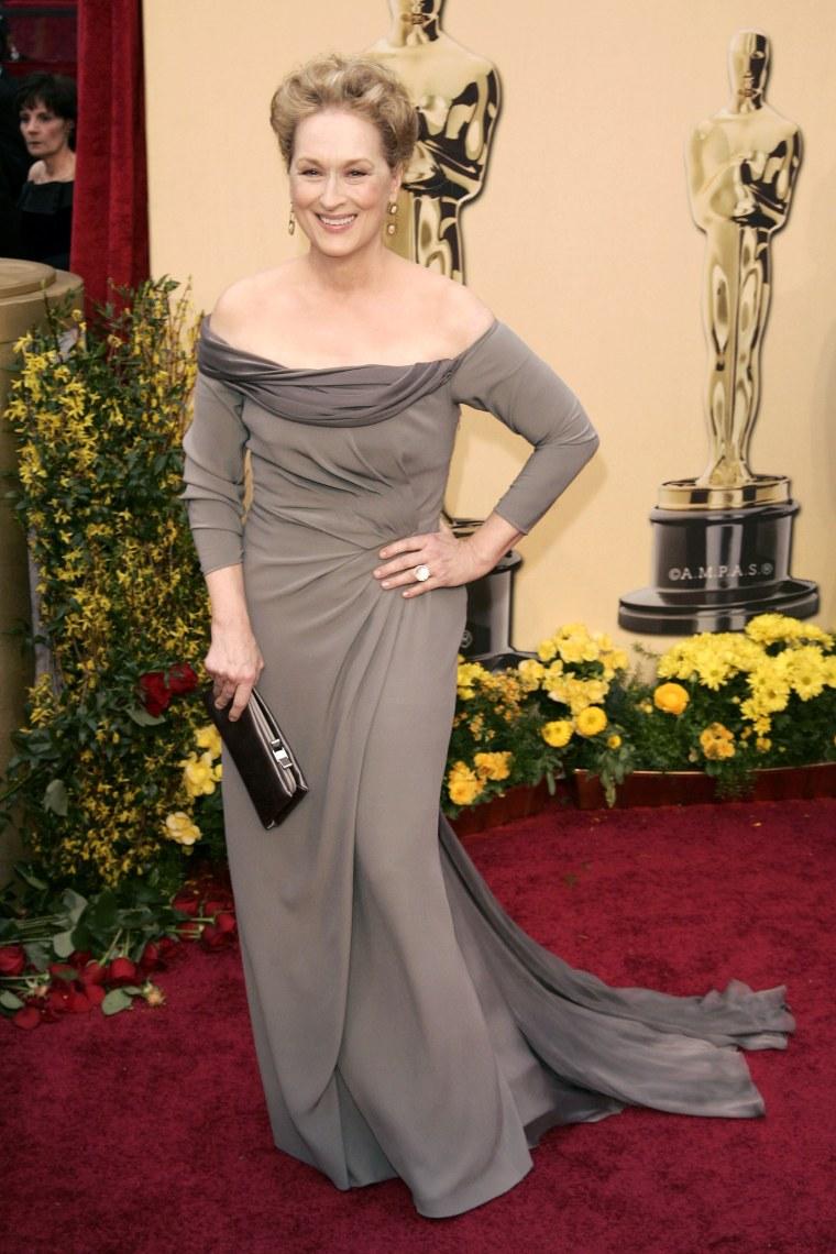 Actor Meryl Streep arrives for the 81st Academy Awards cerem