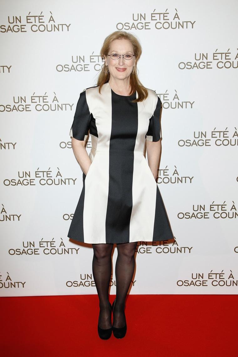 Image: 'August : Osage County' : Premiere  At Cinema UGC Normandie In Paris