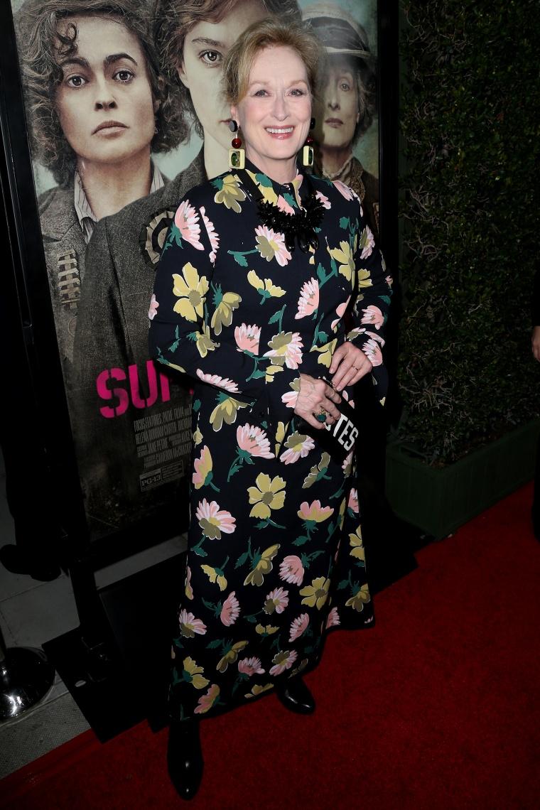 """Premiere Of Focus Features' \""""Suffragette\"""" - Arrivals"""