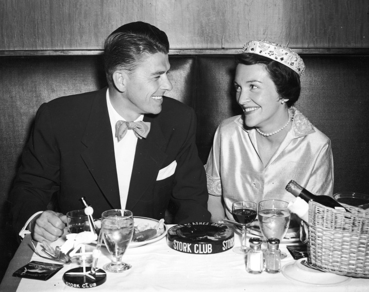 Image: Ronald And Nancy Reagan On Honeymoon