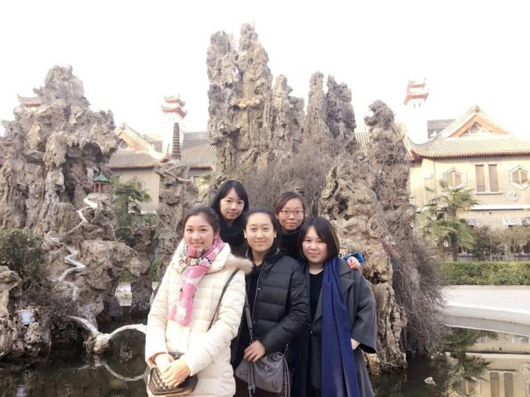 Image: Li Yuan, Yue Ting, Gao Yichen, Li Jing and Li Chengjin