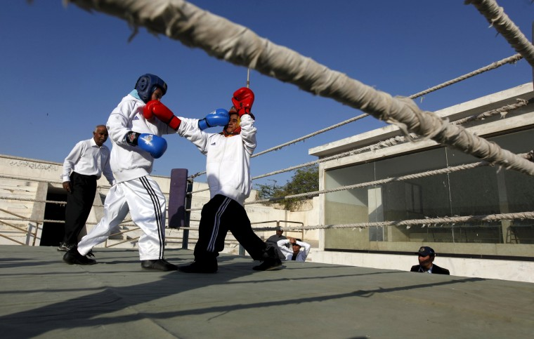 Image: Pakistani Women Boxing Club 7
