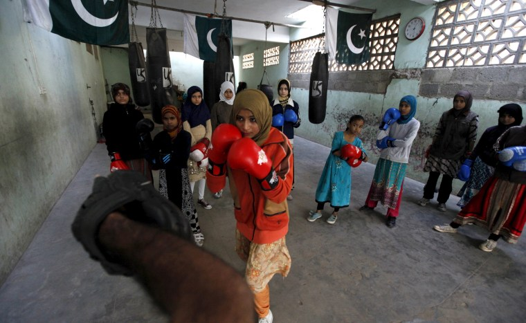 Image: Pakistani Women Boxing Club 1