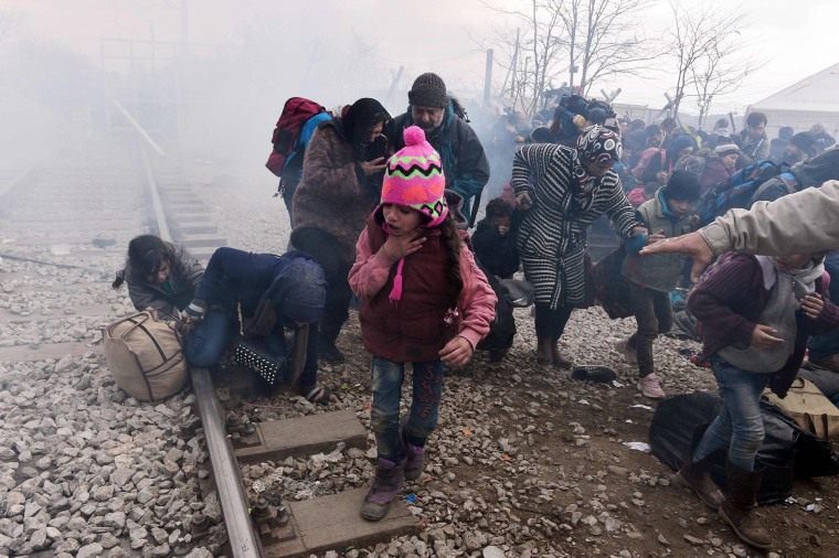 Image: GREECE-MACEDONIA-EUROPE-MIGRANTS