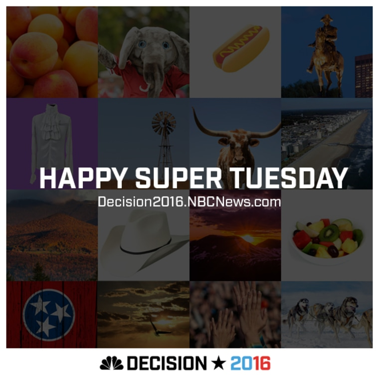 Super Tuesday Card for America