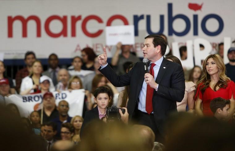 Image: Marco Rubio in Miami, Florida USA