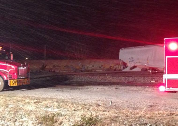 Chautauqua County Sheriff reports18 rail cars detailed in Ripley, 3 w/ hazardous material, 2 leaking ethanol
