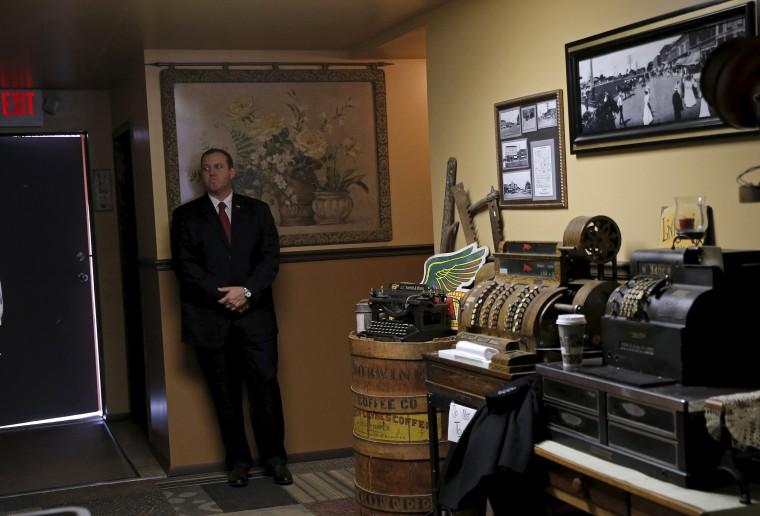 Image: A U.S. Secret Service agent