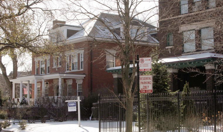 Image: Obama's home in Chicago