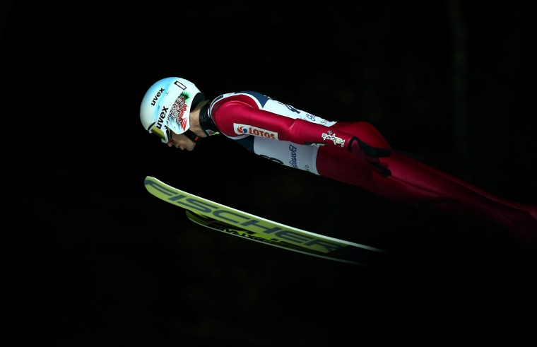 Image: Ski Jumping World Cup in Wisla