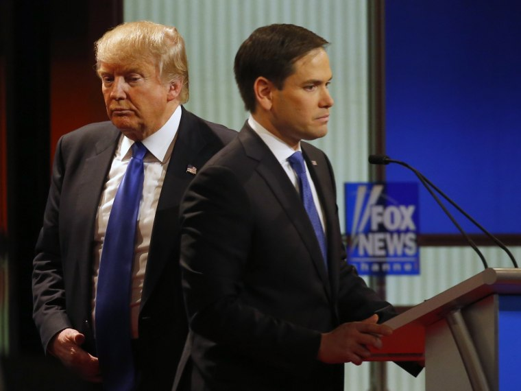 Image: Donald Trump, Marco Rubio