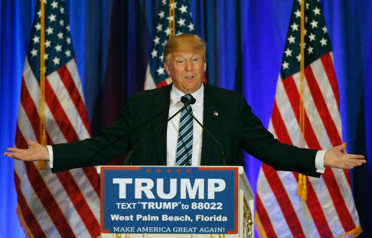 Image: POL-DONALD-TRUMP-US-VOTE-REPUBLICANS