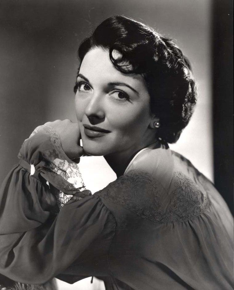 Image: Nancy Davis posing for a publicity photograph circa 1949-50