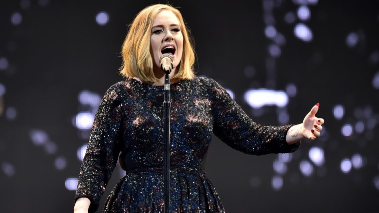 Image: Adele Performs At The SSE Arena Belfast
