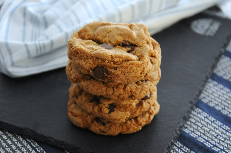 Ryan Scott makes brown butter chocolate chip and salted cashew cookies