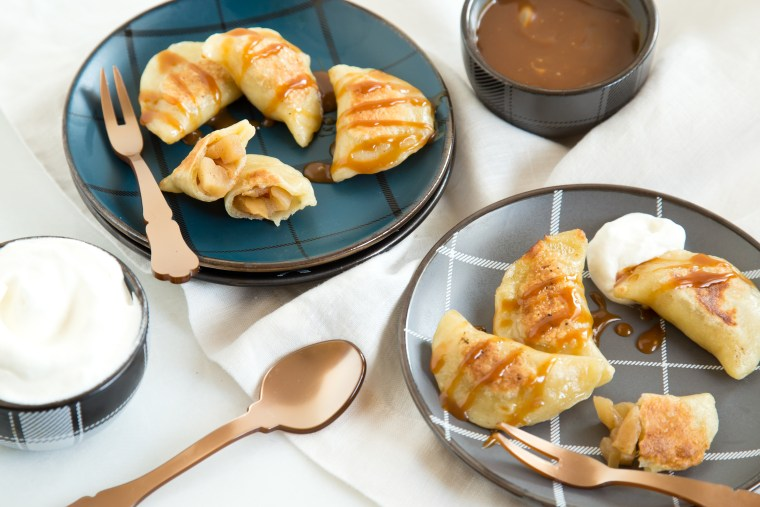 Apple pie-rogies! Easy for dessert or a snack