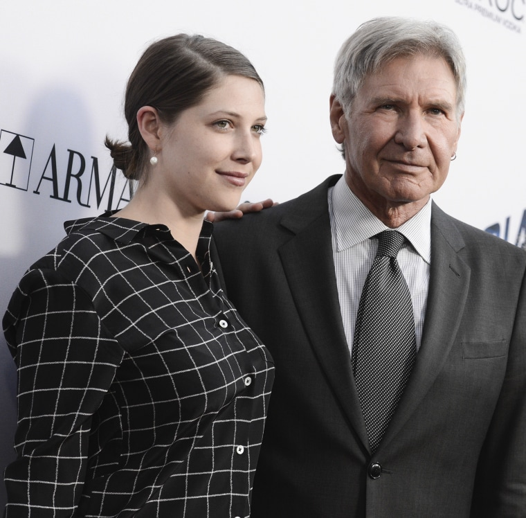 Harrison Ford opens up about daughter Georgia having epilepsy