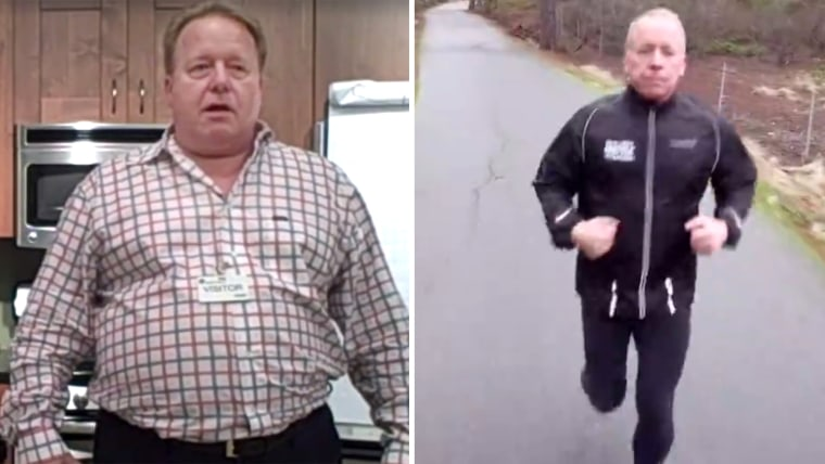 Eric O'Grey lost 140 pounds after a shelter dog helped change his life
