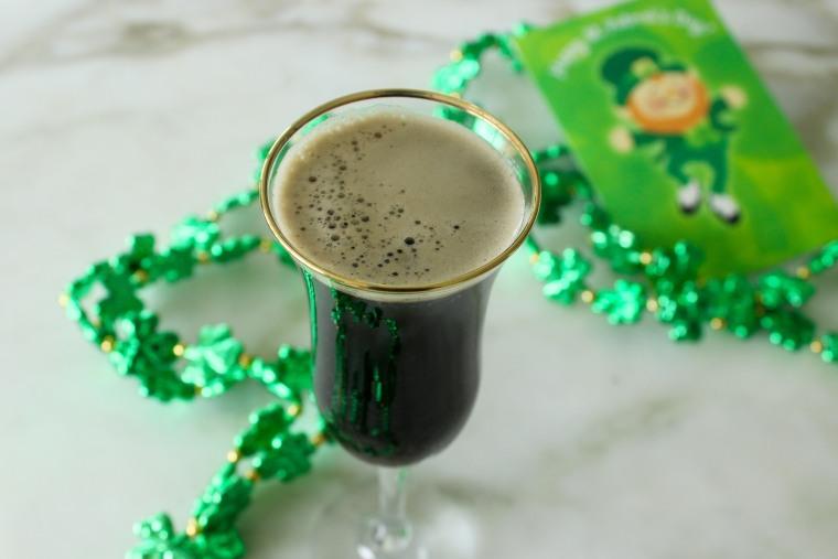 Black Velvet Guinness Cocktail