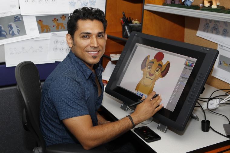 Jose Zelaya, character designer