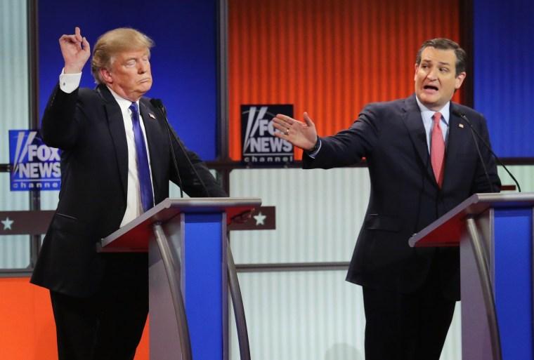 Image: GOP Presidential Candidates Debate In Detroit