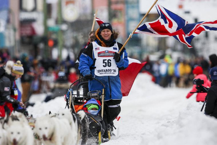 Image: Iditarod Trail Sled Dog Race 05