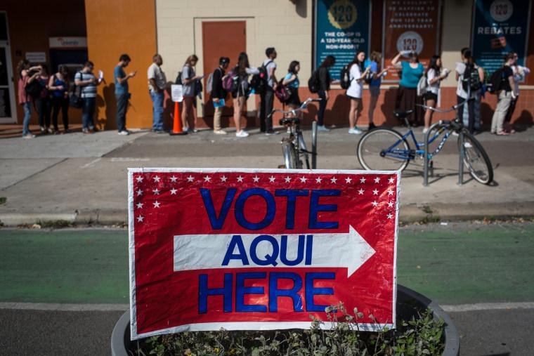 Image: Super Tuesday, Texas Votes