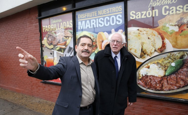 Image: Bernie Sanders, Chuy Garcia