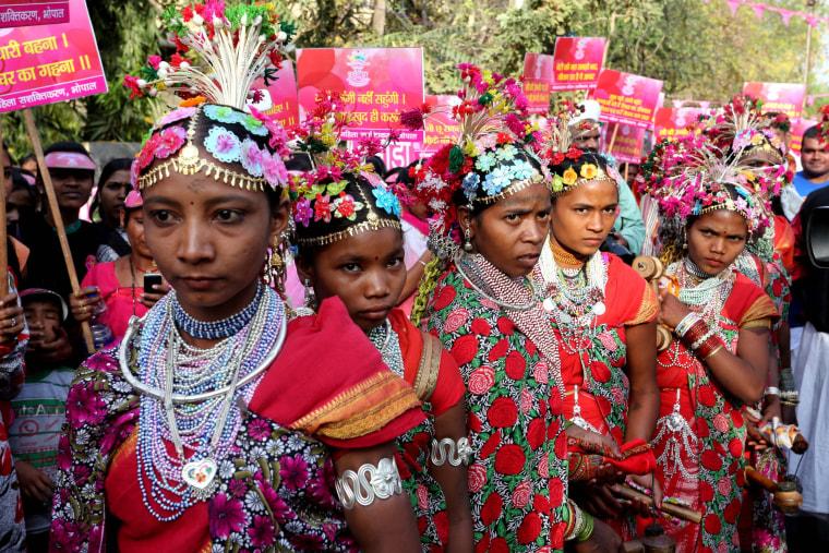 Image: International Women's Day in Bhopal