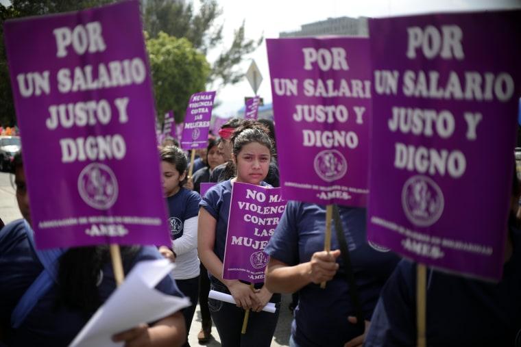 Image: GUATEMALA-WOMEN-DAY